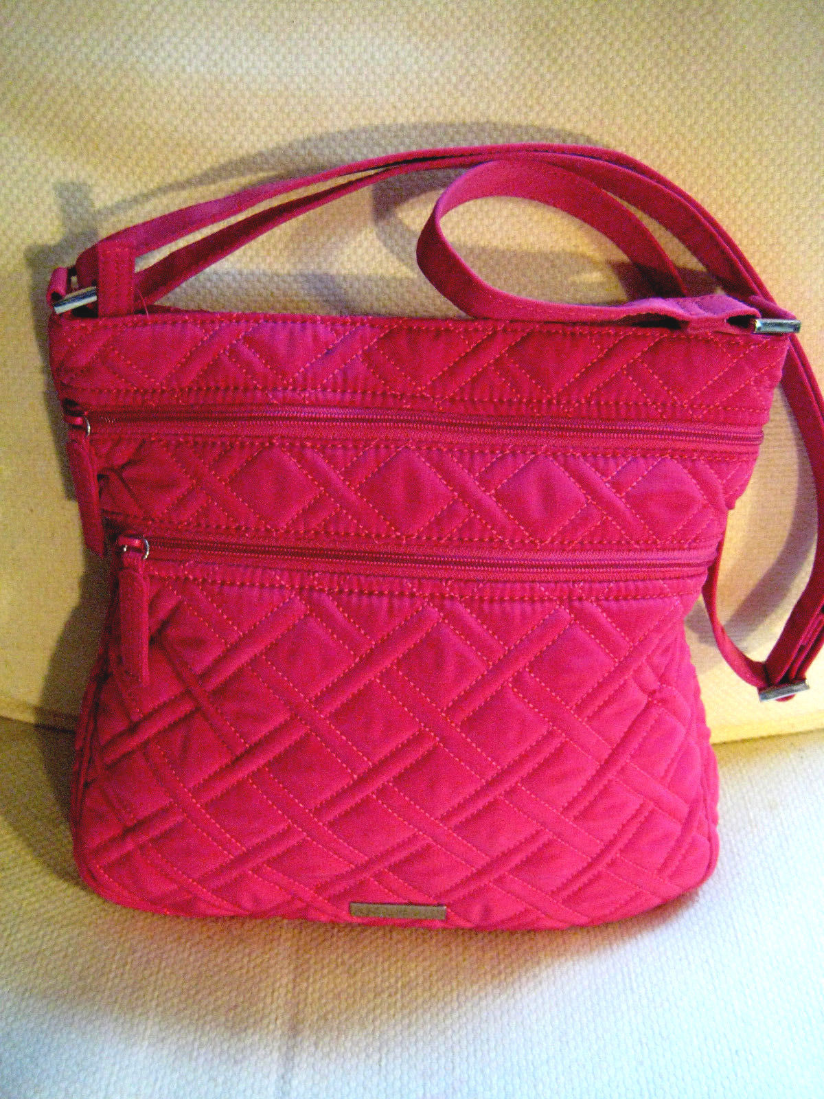 b58f591927c3 Vera Bradley Hot Pink Fuchsia Quilted Cotton and 50 similar items. S l1600
