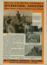 1936 Farmall McCormick-Deering Model 30 Tractor Ad ~ New Richmond, IN Fa... - $7.91