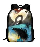 Kaiju Godzilla Fighting Multi-function Backpack College Bookbag - $32.57