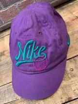 Nike Verde Púrpura Ajustable Infantil Gorra - $13.49
