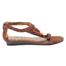 Nine West Womens Sandal NWMEDALION MEDIUM BRN - $57.00