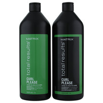 Matrix Total Results Curl Please Shampoo & Conditioner Liter   - $52.63