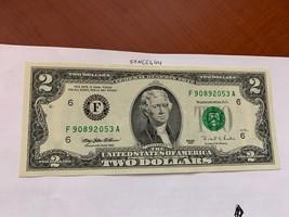 United States Jefferson $2 uncirc. banknote 1995 #5 - $12.95