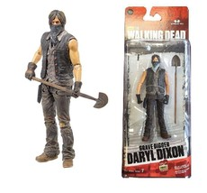 New McFarlane Walking Dead Series 7, Grave Digger DARYL DIXON. Free Ship... - $9.46