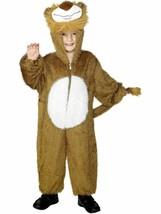 Kid's Lion Jumpsuit Animal Smiffy's Fancy Dress Costume Child Medium Age 7-9 Nip - $28.70
