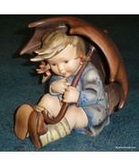 """1950s 8"""" Umbrella Girl Goebel Hummel Figurine TMK2 FULL BEE - MOTHER'S D... - $1,047.59"""