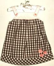 GIRLS WHITE PRINTED DRESS SIZE 3 - 6 MOS GYMBOREE - $3.00