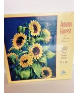 "SunsOut Jigsaw Puzzle Autumn Harvest by Sandra Bergeron 500 piece 18X24""... - $14.92"