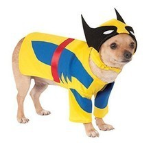 Rubies Marvel Wolverine Comic X-Men Movie Pet Dog Halloween Costume 580071 - $15.76