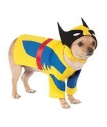 Rubies Marvel Wolverine Comic X-Men Movie Pet Dog Halloween Costume 580071 - £11.97 GBP