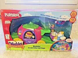 Playskool Weebles  Story Book World Cinderella Carriage Princess Vintage  - $89.08