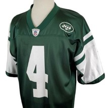 New York Jets Brett Favre #4 Reebok On Field Jersey Large Green NFL Foot... - $27.99