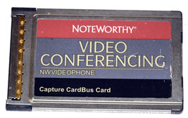 Noteworthy Video Conferencing NW Videophone Capture Cardbus PCMCIA Card - $8.00