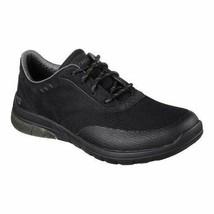 65446 Black Skechers shoes Men Memory Foam Casual Comfort Sporty Lace Up... - $56.99
