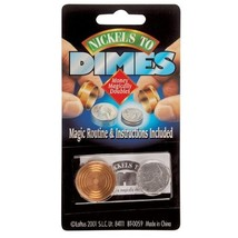 Loftus Nickels To Dimes Magic Trick Easy To Do Trick - $11.99