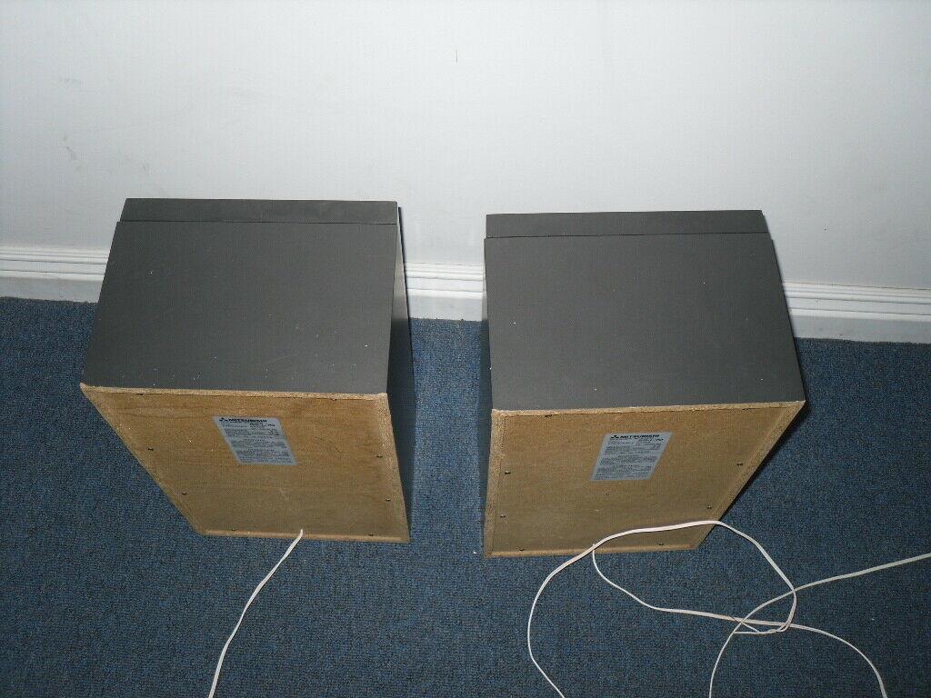SS-L70 Mitsubishi Bookshelf Speakers for DA-L70