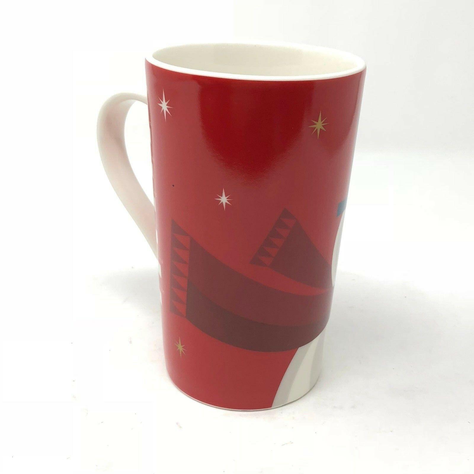 Starbucks Mug 2012 Holiday Christmas Snowman Grande Coffee Cup 16 oz image 3