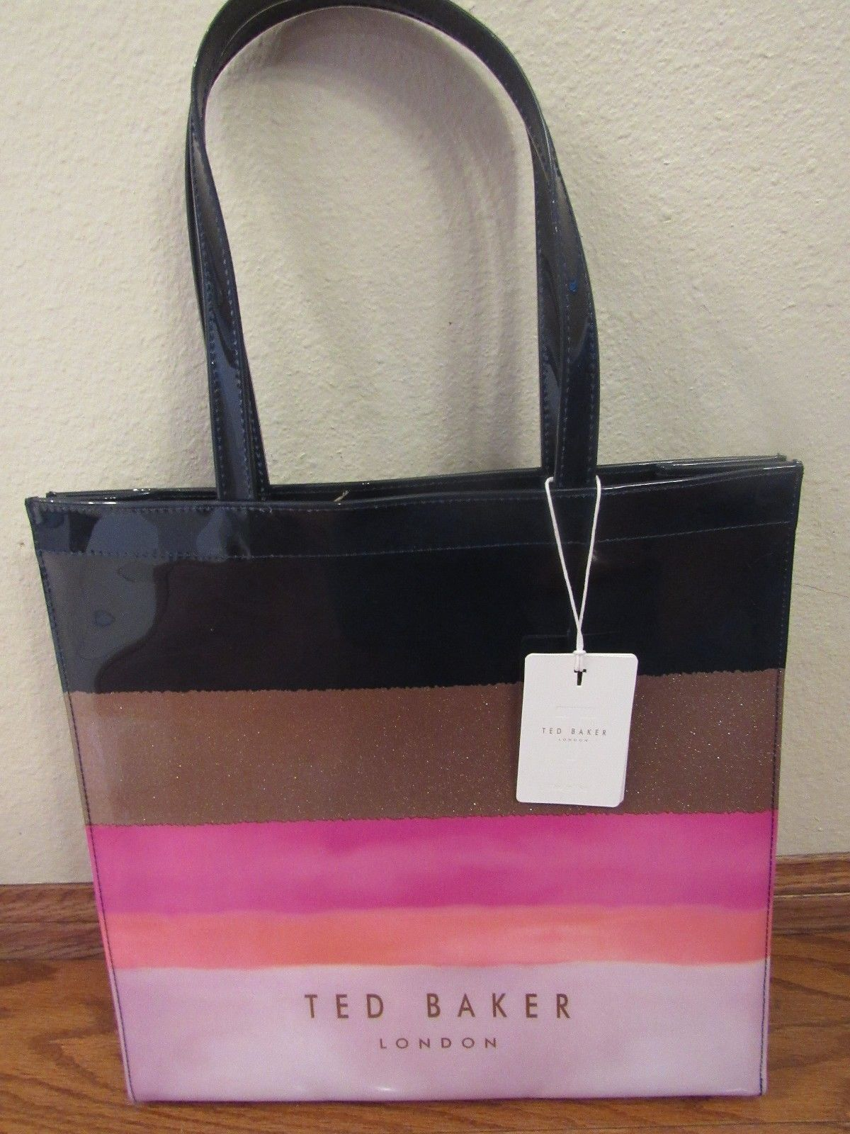 356f803491 Ted Baker London MARINA MOSAIC Large Icon Tote Bag NWT Intact Condition