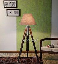 Nauticalmart Decorative Wooden Tripod Floor Lamp Stand - $153.45