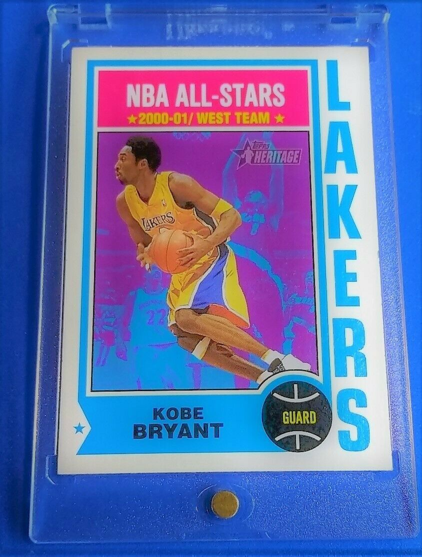Primary image for Kobe 2001-02 Topps Heritage NBA All-Stars Kobe Bryant Basketball Card #30