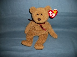 TY Beanie Babies Curly The Bear With Hang Tag 4/12/96 - $2.48