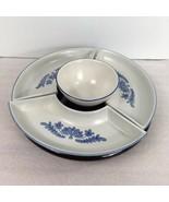 Pfaltzgraff Yorktowne Ceramic Lazy Susan 130 5-Piece 3 Sides 1 Center Bo... - $69.29