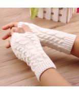 Women Winter Hand Warmer Gloves Thick Arm Crochet Knitting Warm Fingerle... - $13.99