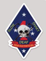 USMC 1st MARDIV Old Farts Sticker - $19.79