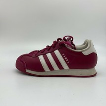 Adidas Youth Maroon & White Sneakers, Size 2 - $17.82