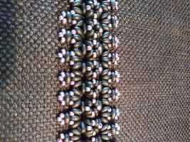 Handmade Black & Pink Bracelet - $25.00