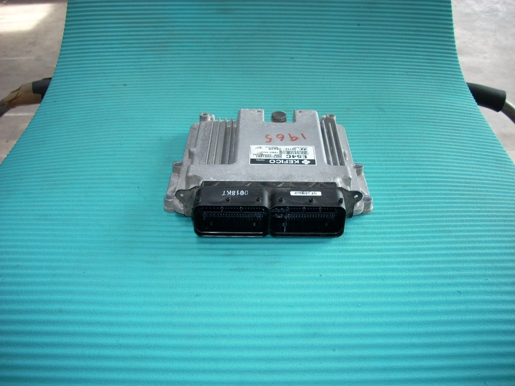 2012 HYUNDAI ACCENT ENGINE CONTROL MODULE 39110-2BAD5
