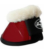 X Lrg Professional Choice Flexible Horse Spartan Fleece Bell  Boots Crim... - $43.55