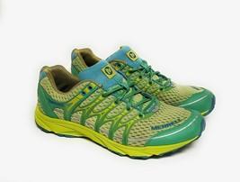 Merrell Womens Size 9 Mix Master Move Glide Waterproof Trail Running Shoe Green - $37.95