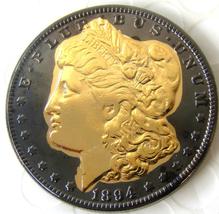 1894 Black Gold Morgan Dollar Token Free Shipping - $29.99