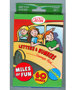 Car Scavenger Game Letters and Numbers For Long Trips - $8.95