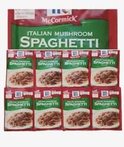 (8) McCormick Italian Mushroom Spaghetti Sauce Seasoning Mix Spice pack ... - $39.49