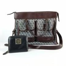 Authentic Dooney & Bourke Office Handbag with Signature D&B Monogram AND... - $95.94