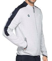 New Puma Bmw Motorsport Men's Premium MSP T7 Sweat Jacket Heather Gray 57277503 image 3