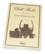 Chill Rocks Set of 9 Whiskey Stones by Quiseen Use for Chilling Drinks B... - $7.95