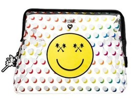 Victoria's Secret Pink Emoji Arc-En-Ciel Palme Visage Souriant Transparent - $19.82
