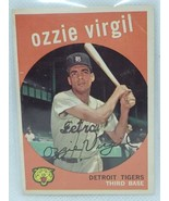 1959 Ozzie Virgil Topps #203 Tigers - $49.50
