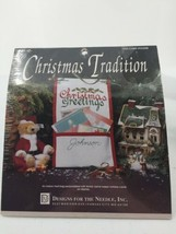 Card Holder Embroidery Kit Designs For The Needle Christmas Tradition #1922 - $9.49