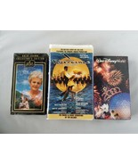 Vintage VHS Tapes Movies 2000 Walt Disney World, Riverdance, The Shell S... - $25.10