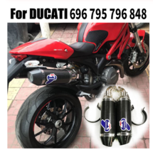 Motorcycle TERMIGNONI Exhaust Muffler Pipe Full Systems Middle Pipe For ... - $662.69