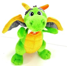 "Aurora World Plush 7"" Green Orange Dragon Legendary Friends Dragon with ... - $11.57"