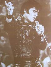 Elvis Presley 68 Comeback WB Vintage 11X14 Sepia Music Memorabilia Photo   - $9.95