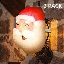 MAOYUE 2 Pack Porch Light Covers Outdoor Christmas Decorations Christmas... - $35.95