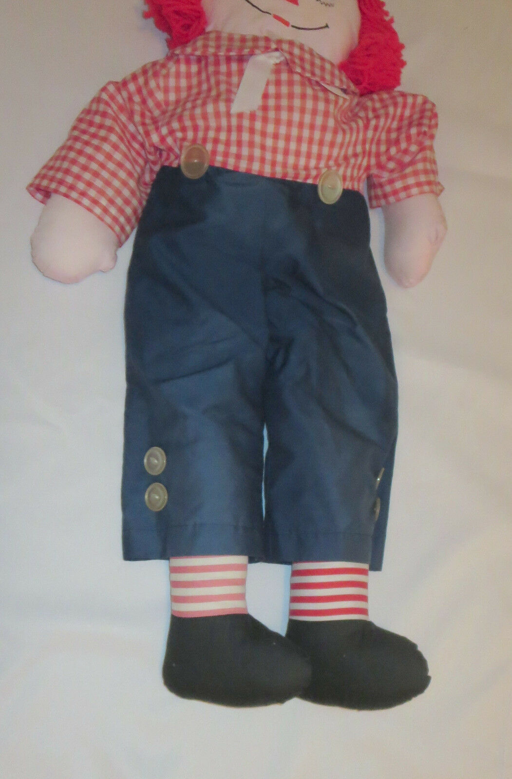 "Raggedy Andy Doll Large 35"" Tall Rag  image 2"