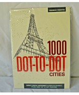 1000 Dot-to-Dot Cities Activity Book 20 Exotic Locations & Poster Thomas... - $19.99