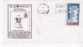 BOY SCOUTS HAPPY 90th BIRTHDAY TO CHIEF SCOUT AND FOUNDER USPS NY MAR 25... - $1.98